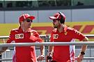 Ferrari crashes