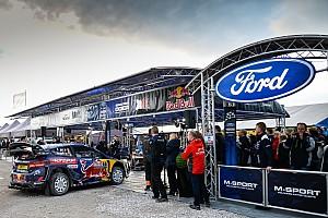 WRC Новость M-Sport получила заводскую поддержку Ford