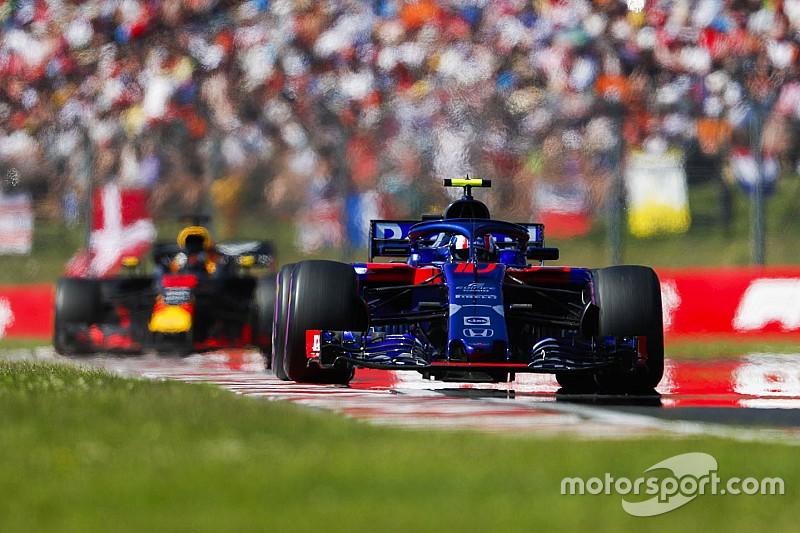 """Gasly cree que la manejabilidad del motor Honda """"es mejor"""" que la del Renault 2017"""
