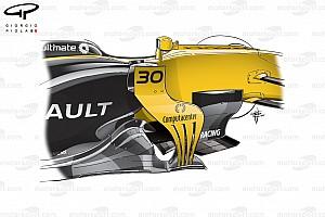 Formule 1 Analyse Tech: De evolutie van de Renault RS17 in 2017