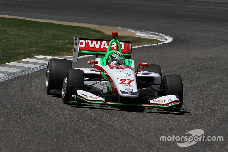 Barber Indy Lights: O'Ward wins in dry, dominates in wet