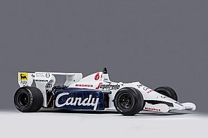 Toleman F1 van Ayrton Senna onder de hamer