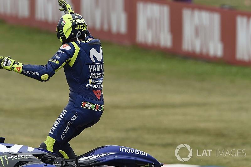 "Após polêmica, Rossi considera ""importante"" voltar à pista"