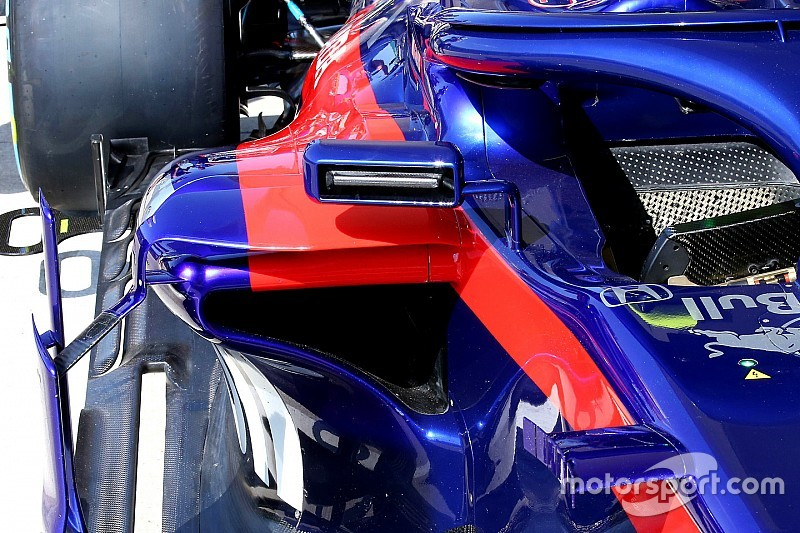 Toro Rosso copies Ferrari mirrors design