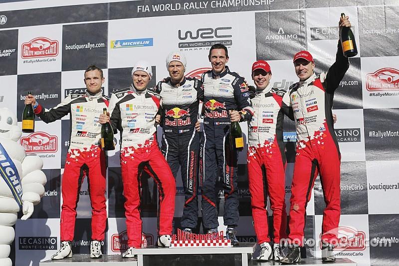 トヨタデビュー戦を2位で終えたタナク「この後のラリーが本当に楽しみ」