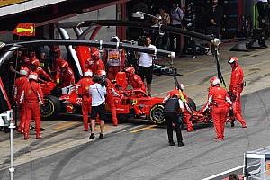 Formel 1 News Nach Spanien-Ausfall: Räikkönen-Motor wohl noch zu retten