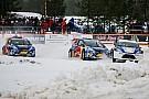 RallyX on Ice: IndyCar-Stars wagen sich aufs Eis