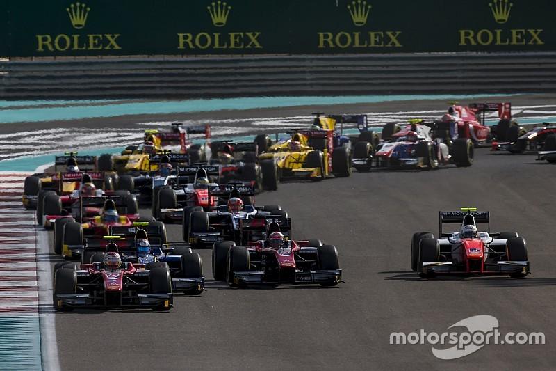 Ecco le line up dei team di F.2 impegnati nel Giorno 1 di test ad Abu Dhabi