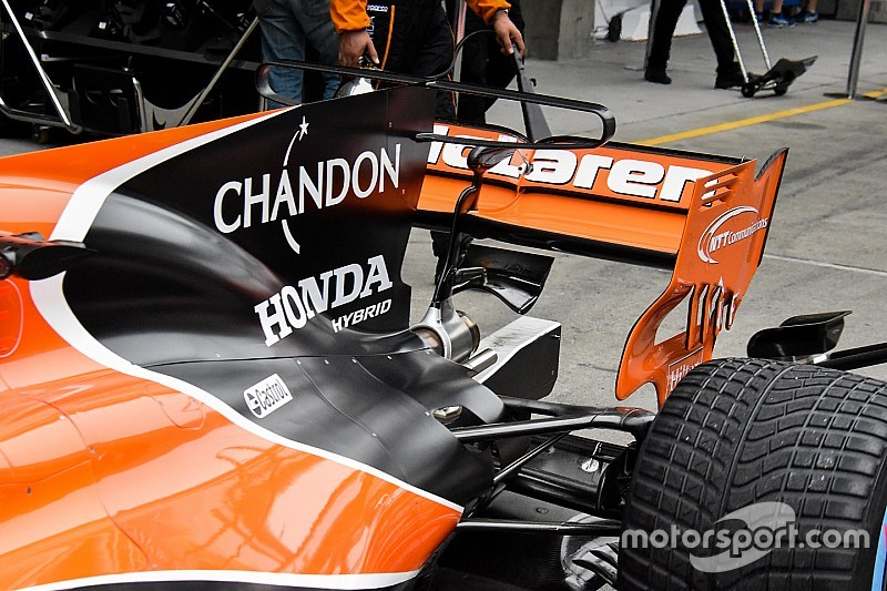 图集:F1中国大奖赛技术谍照