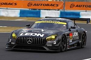 スーパーGT 速報ニュース 【スーパーGT】岡山予選GT300:赤旗で明暗。LEON AMGポール獲得