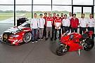 Lorenzo, en la reunión de pilotos Audi Sport