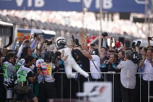 F1 Reporte de la carrera Bottas logra su primera victoria bajo la presión final de Vettel
