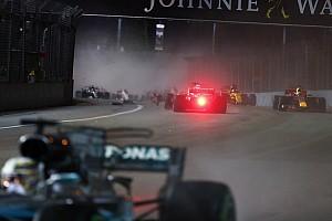 Vettel'in motoru Singapur GP'deki kazada hasar görmedi!