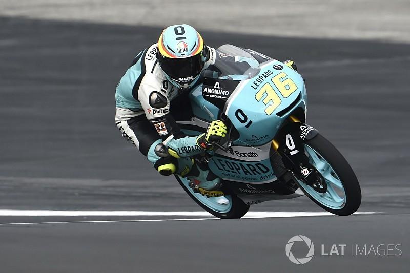 Mir logró una dominante victoria en Moto3