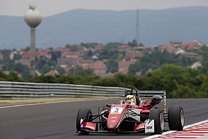F3-Euro Reporte de la carrera Victoria de Günther en la primera carrera del fin de semana en Hungría