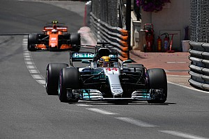 Formel 1 News F1 2017: Schwache Monaco-Leistung hat Schwächen von Mercedes enthüllt