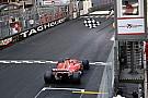 L'histoire derrière la photo- À l'heure pour la victoire de Vettel