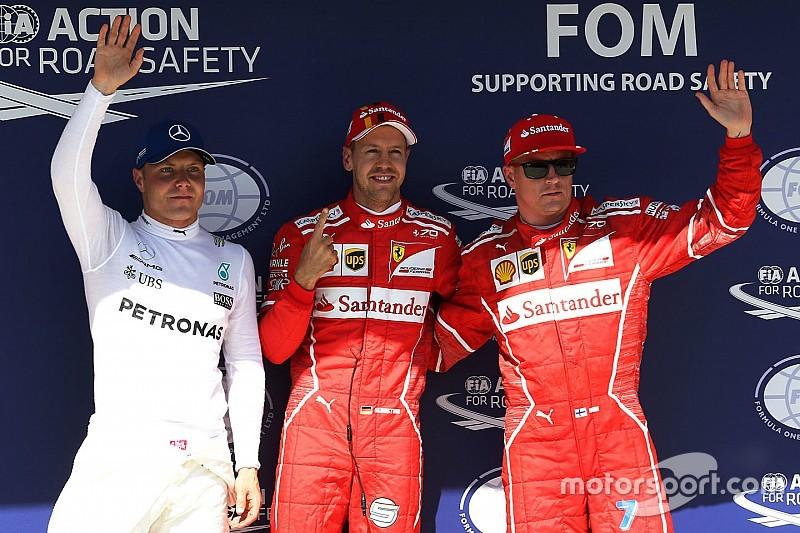 Pole de Vettel en un 1-2 de Ferrari en Hungría