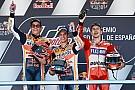 Pedrosa gana en Jerez con Márquez y Lorenzo en el podio