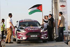 بطولة الشرق الأوسط للراليات تقرير المرحلة رالي الأردن: العطية أولاً في المرحلة الاستعراضية