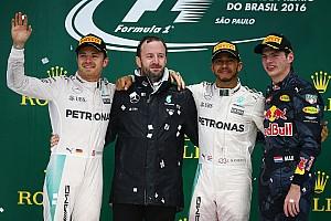 Formula 1 Race report Brazilian GP: Hamilton win sets up Abu Dhabi showdown with Rosberg
