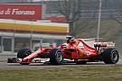 Ferrari SF70H: Vettel gira e si diverte anche sul bagnato