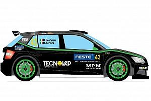 WRC Ultime notizie Scandola svela la livrea della Fabia R5 per il Rally di Finlandia