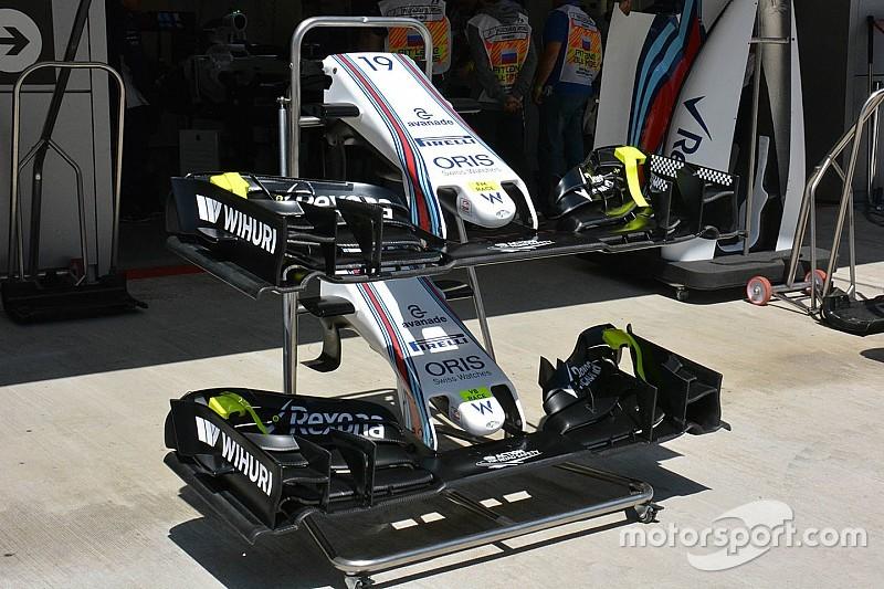 Breve análisis técnico: Alerón delantero del Williams FW38