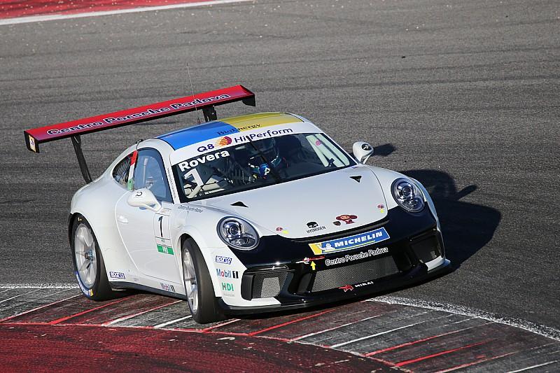 Carrera Cup Italia, Misano: Rovera riprende dal top delle libere