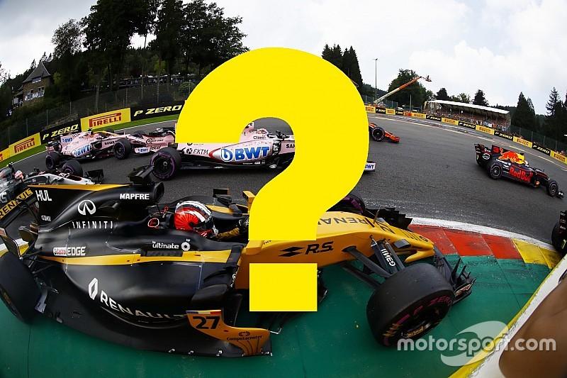 Всего год назад. Вспомните ли вы прошлый Гран При Бельгии?