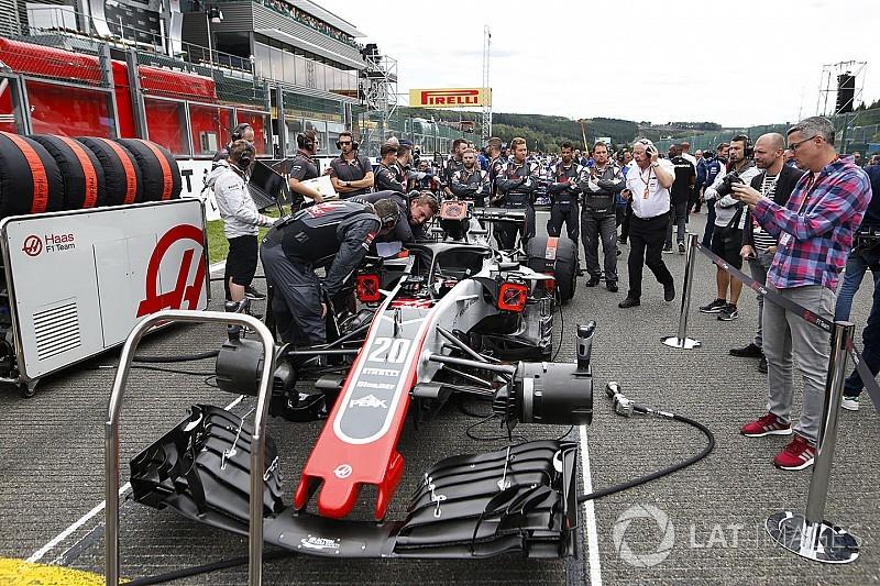 A Haas végül az új padlólemezzel versenyez Monzában