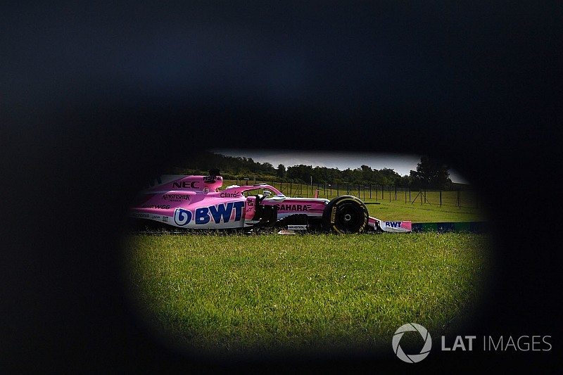 Force India Formula One Team: beindult a folyamat