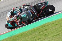 Barcelona MotoGP: Quartararo leads Vinales in FP3