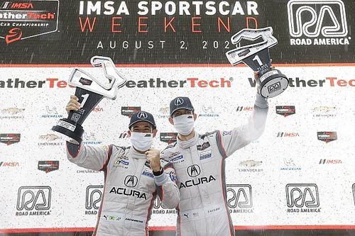 IMSA Road America: Castroneves, Taylor win in torrential rain