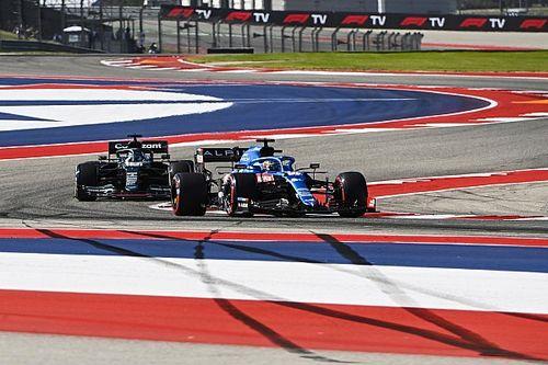 Uitslag: Eerste vrije training F1 Grand Prix van Verenigde Staten