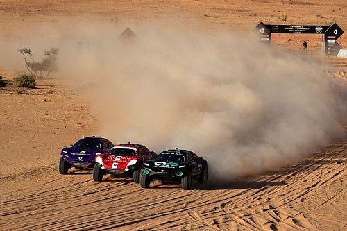 Extreme E: Sainz, fuera de la final tras un duelo electrizante con Loeb