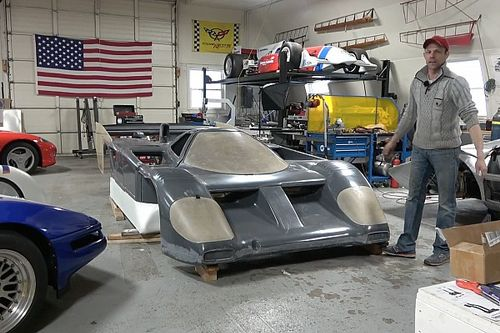 Enthusiast builds Viper V10-powered Nissan GTP prototype