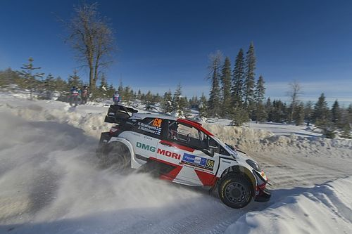 """Rovanperä a eu """"du mal"""" avec sa Toyota Yaris WRC tout le week-end"""