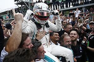 Brezilya GP: Ocon, Verstappen'e çarptı, Hamilton kazandı!