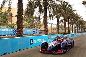 Frijns domina el test matinal de Fórmula E, con el Nissan de Rowland y Jordá 2º