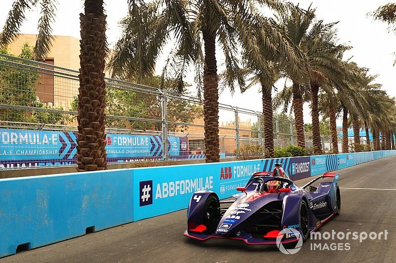 Frijns domina el test matinal de Fórmula E por delante de Rowland