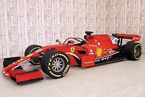Video F1: ecco come è nata la Ferrari SF71H tutta in cartone!