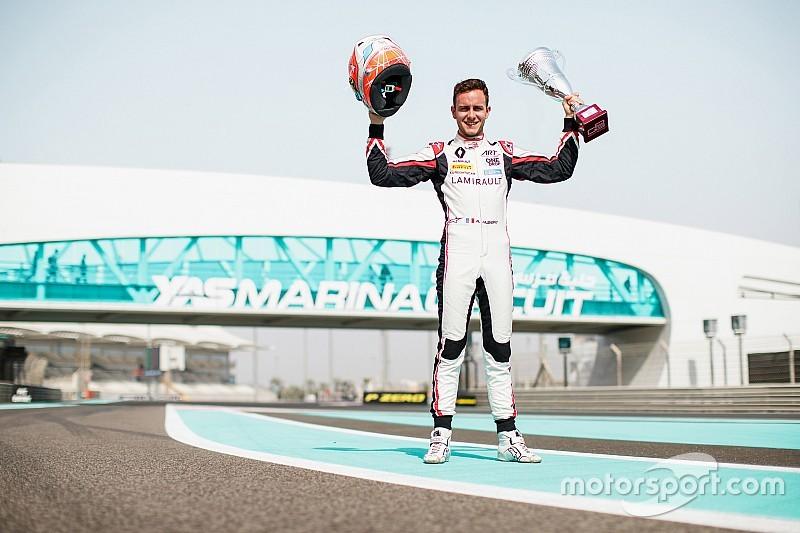 Anthoine Hubert, Champion GP3 sur les traces d'Esteban Ocon