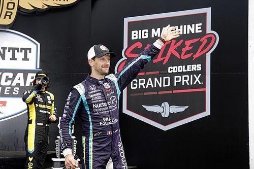 Menikmati Setiap Lap, Romain Grosjean Lebih Bahagia di IndyCar