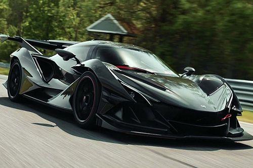 L'incredibile sound del motore Ferrari esalta l'Apollo IE