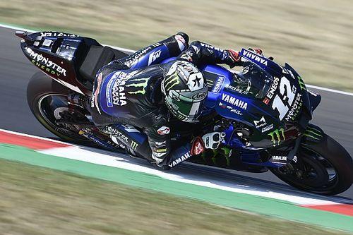 Vinales óriási pályacsúccsal a pole-ban, Rossi az utolsó körén rontott