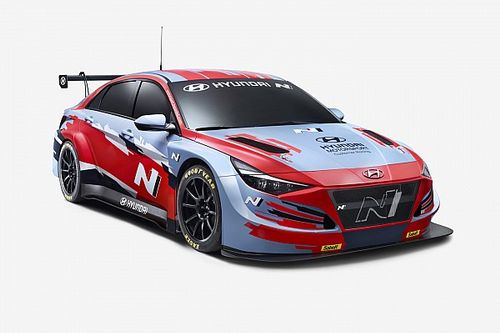 Hyundai takes covers off new Elantra N TCR car
