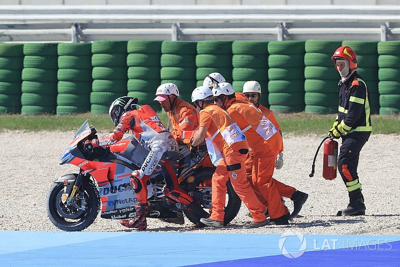Lorenzo verklaart crash: