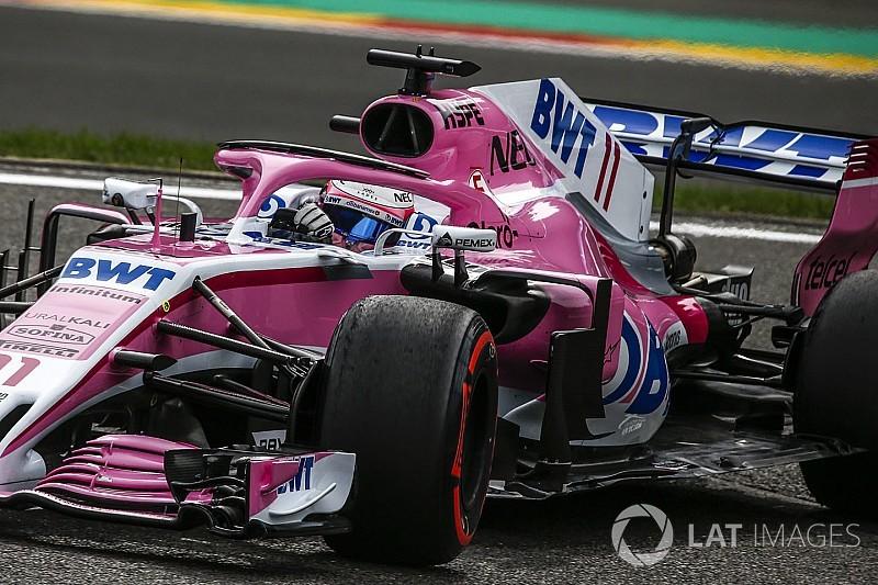 Perez: Force India için yılın en iyi cuma günüydü