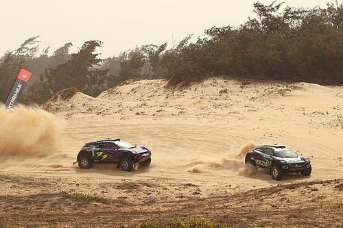 エクストリームE第2戦セネガル、元F1王者ロズベルグのRXRチームが初戦に続き連勝…バトンやハミルトンのチームは決勝でクラッシュ